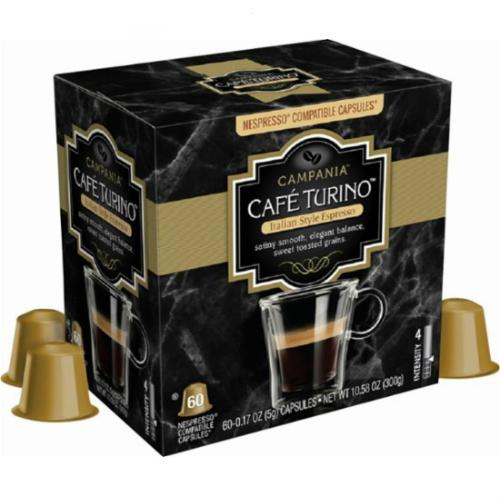 50% off 60-PKs of Cafe Turino Espresso Capsules for Nepresso : Only $19.99