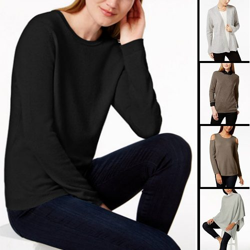 Up to 75% off Women's Cashmere Sweaters : $39.99 + Free S/H