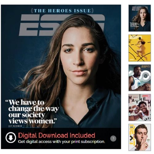 81% off ESPN Magazine Subscription : Only $4.95