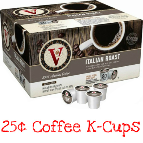 50% off 80-CT Victor Allen Coffee K-Cups : Only $19.99