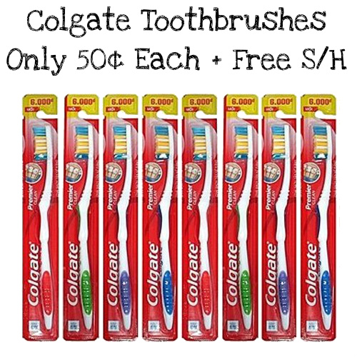 60% off 24-PK of Colgate Toothbrushes : Only $11.99 + Free S/H