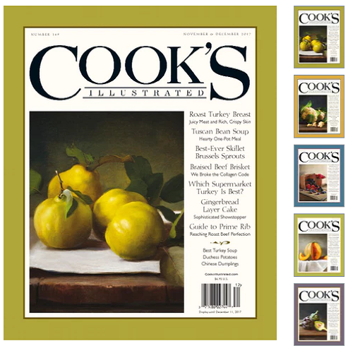 72% off Cook's Illustrated Magazine Subscription : Only $6.99