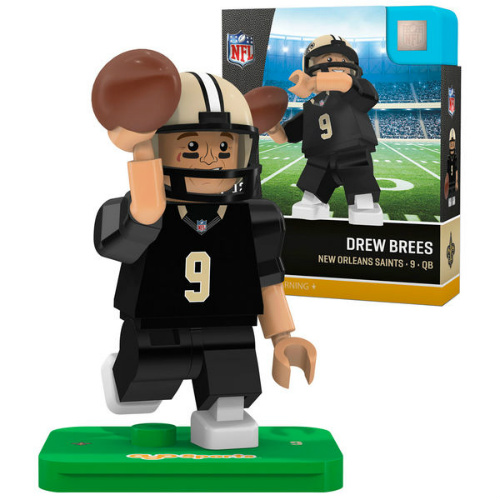 Drew Brees Lego Style Minifigure : $7.99 + Free S/H