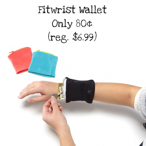 88% off Fitwrist Wallet : Only 80¢