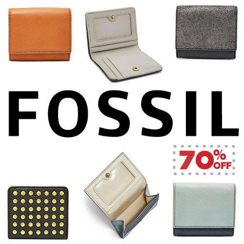 70% off Fossil Leather Wallets : $15 + Free S/H