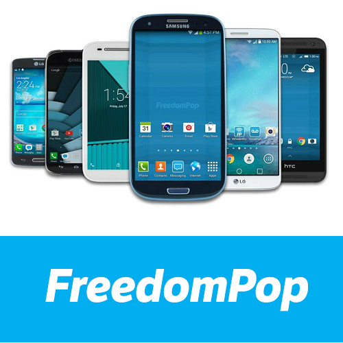 FreedomPop : Smartphones as low as $34.99 + 1-Month of Free Service