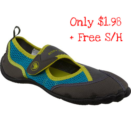 85% off Girls' Body Glove Water Shoes : $1.98 + Free S/H