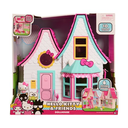 64 Off Hello Kitty Doll House Only 24 97