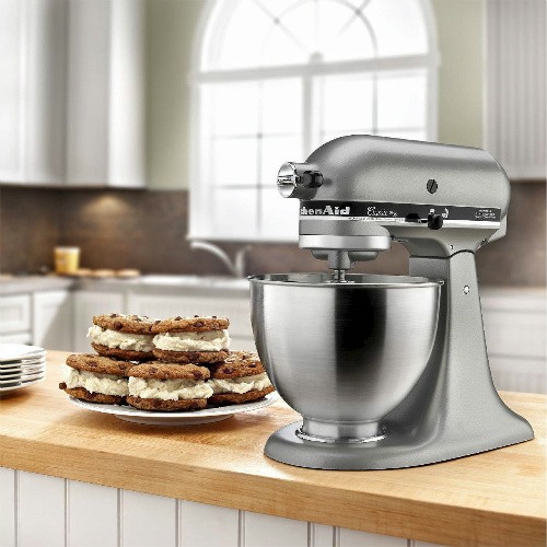 55% off KitchenAid Classic 4.5 Qt Stand Mixer : Only $189.99 + Free S/H