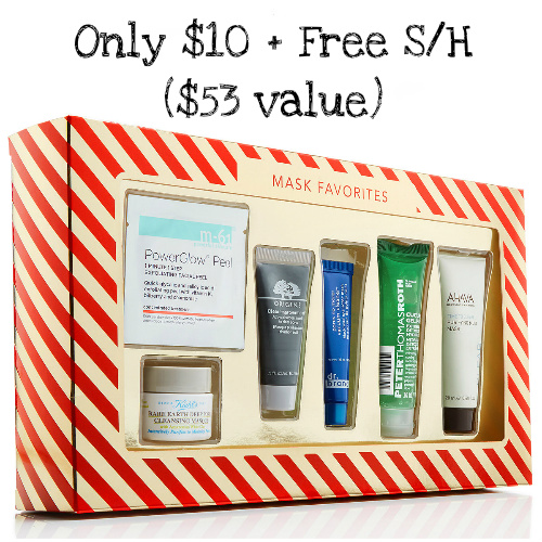 81% off Macy's Mask Favorites Gift Set : $10 + Free S/H
