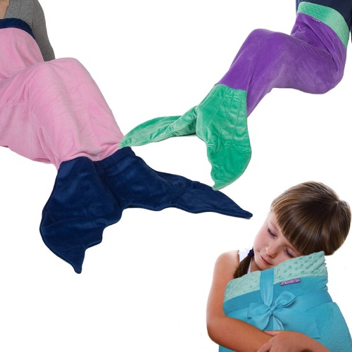 66% off Mermaid Tail Blankets : $12 + Free S/H