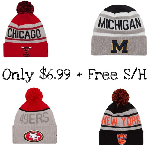 Up to 78% off New Era Beanies : $6.99 + Free S/H