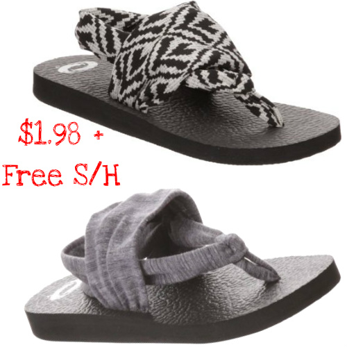 87% off Women's O'Rageous Sandals : $1.98 + Free S/H