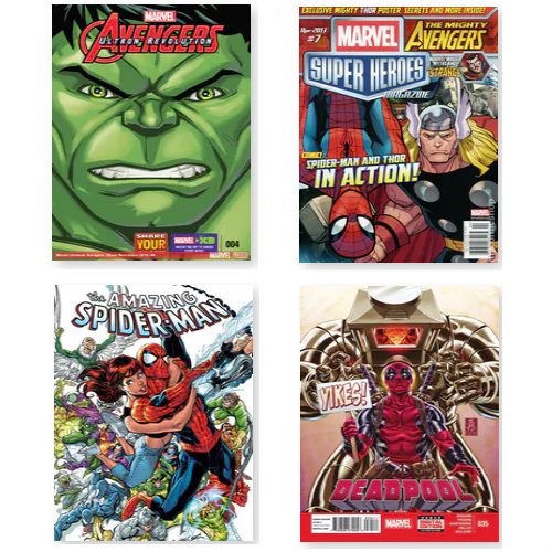 Up to 44% off Comic Book Subscriptions : $13.99-$26.99