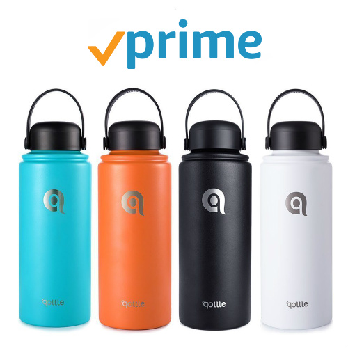 44% off 32-OZ Stainless Steel Vacuum Insulated Water Bottles : Only $11