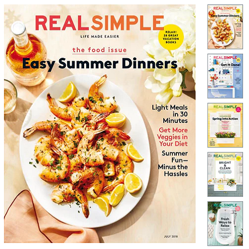 60% off Real Simple Magazine Subscription : Only $7.95