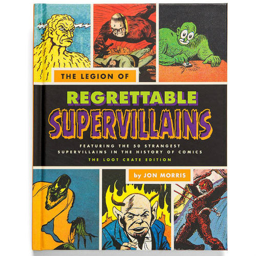 78% off Regrettable Superheroes Hardcover Book : Only $1.58