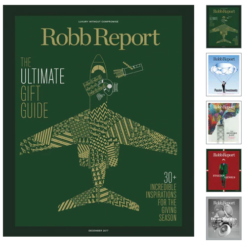 92% off Robb Report Magazine Subscription : Only $4.99