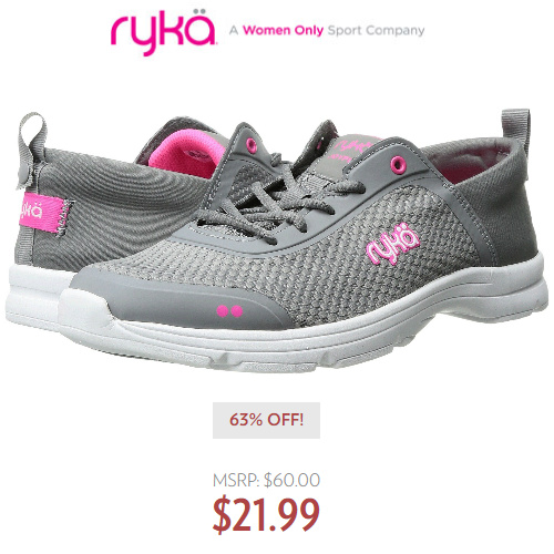 65% off Women's Ryka Sneakers : Only $20.99