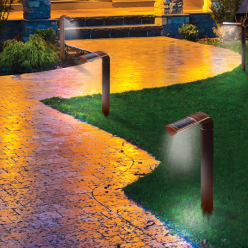 77% off 4-PK of Solar Pathway Lights : Only $11.25