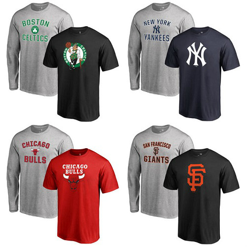 57% off Sports Team T-Shirt Gift Bundles : $14.99 + Free S/H