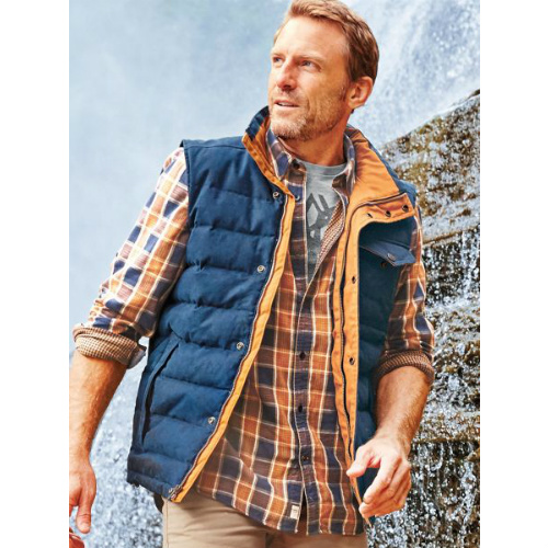 79% off Men's Timberland Waxed Down Vest : $47.98 + Free S/H