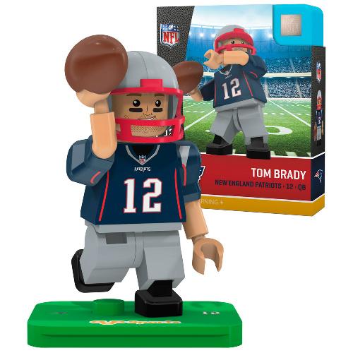 Tom Brady Lego Style Minifigure : $7.99 + Free S/H