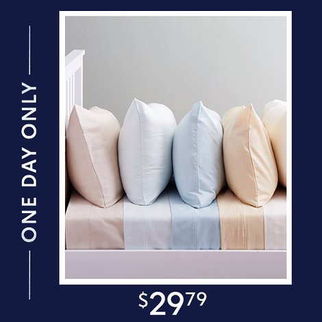 Up to 86% off 600-TC Sheet Sets : $29.79 any size
