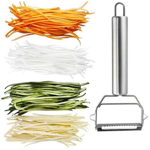 70% off Stainless Steel Julienne Peeler : Only $3 + $2.50 Flat S/H