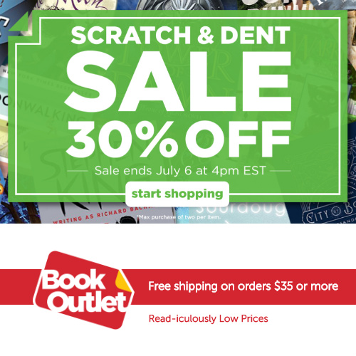 Up to 86% off Scratch & Dent Books : Prices start at 76&cent
