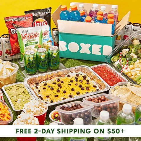 Boxed Sale at zulily : Up to 50% off Groceries + Free 2-Day S/H on $50