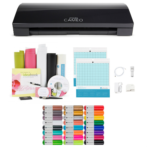 47% off Silhouette Cameo 3 Cutting Machine Gift Bundle : $199.99 + Free S/H