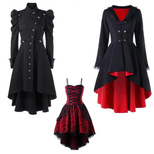 Cheap Gothic Dresses, Outerwear and Accessories : Extra 15% off + Free S/H