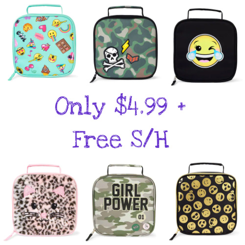 67% off Children's Lunch Boxes : Only $4.99 + Free S/H
