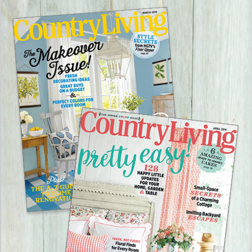90% off Country Living Magazine Subscription : Only $5