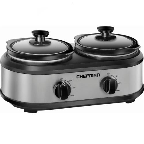 50% off Chefman 2.5-Quart Slow Cooker : Only $29.99