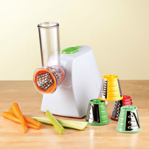 74% off Electric Food Slicer & Grater : Only $15.23