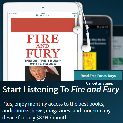 """Fire and Fury"" Audiobook : Listen for Free"