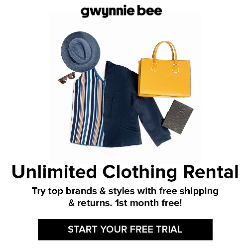 Gwynnie Bee : Free 30-Day Trial + Free S/H
