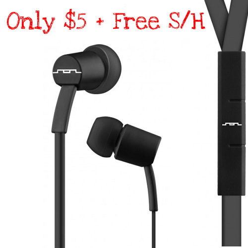 88% off Sol Republic Earbuds : $4.99 + Free S/H