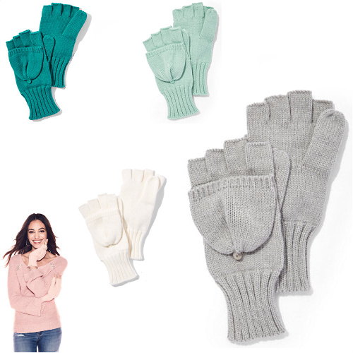 75% off Women's Convertible Knit Gloves/Mittens : $4.97 + Free S/H