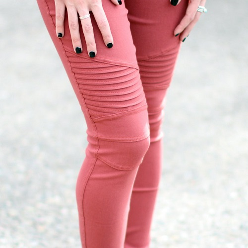 63% off Moto Jeggings : Only $14.99