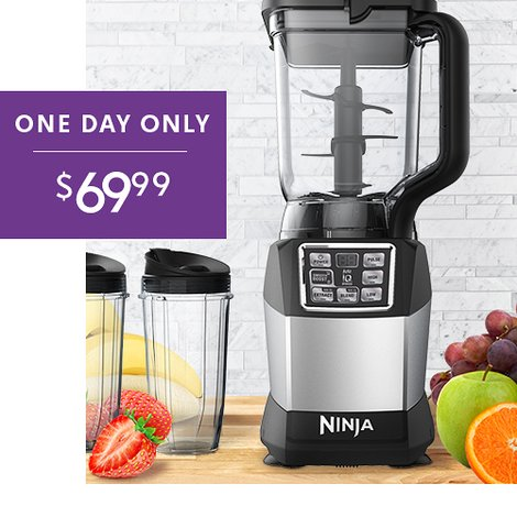 62% off Nutri Ninja Blender Duo with Auto-iQ : $69.99 +Free S/H