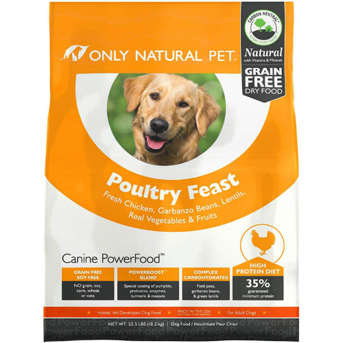 50% off 1-LB Only Natural Pet Poultry Feast Dog Food : $1.99 + Free S/H