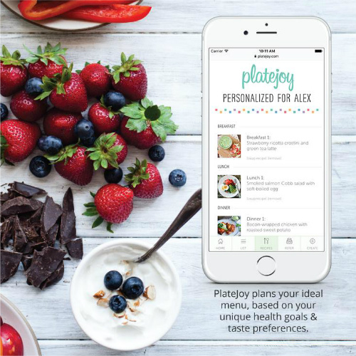 PlateJoy : 10 Day Free Trial + $15 Coupon