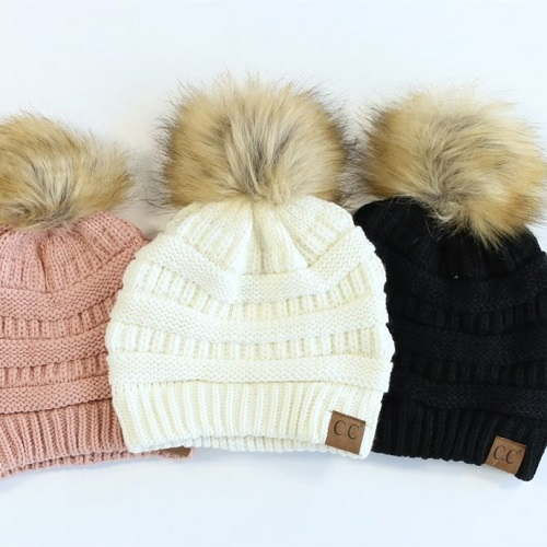 62% off Pom Pom Beanies : Only $12.99