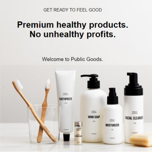 Public Goods : Free 30-Day Trial