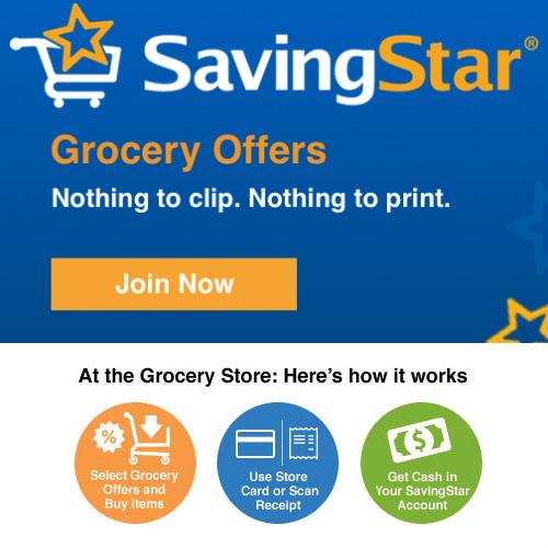 SavingStar : Save More on Groceries