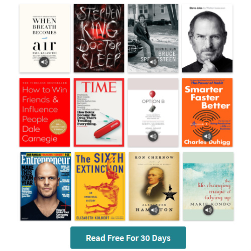 Unlimited Books & Audio Books at Scribd : Try it Free for 30-Days