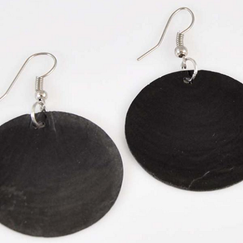 50% off Shell Disc Earrings : Only $3.50 + Free S/H